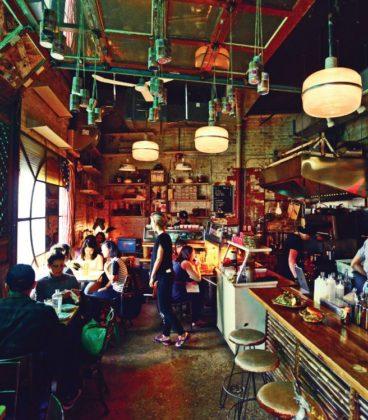 Hanmoto restaurant interior