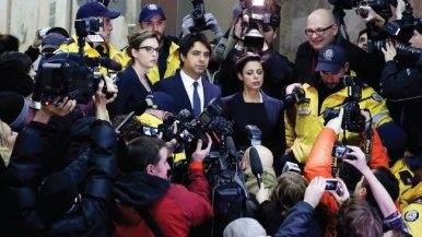 Jian Ghomeshi's life as an outcast