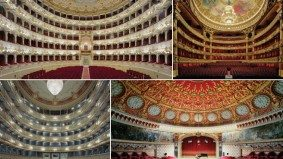 The Gilded Stage: David Leventi's photos of the world's most opulent opera houses