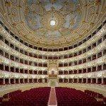 The Teatro Municipale in Piacenza, Italy