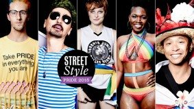 Street Style: fashionable Pride-marchers don't let Mother Nature rain on their parade