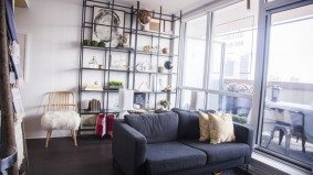 Tour a downtown apartment where everything's for sale