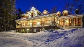 Cottage of the Week: $2.5 million for a Lake of Bays cottage with a seriously impressive fireplace