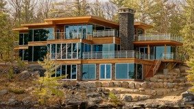 Cottage of the Week: $12 million for a modern Muskoka Lakes mansion on a private island