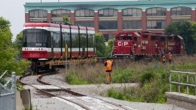 How a brand-new TTC streetcar arrives in Toronto