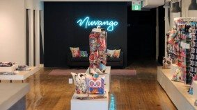 Find colourful clothing and artwork at Nuvango's new Queen West concept shop