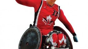 How Parapan Am wheelchair rugby player Zak Madell girds for battle
