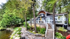 Cottage of the Week: $2.6 million for a bungalow with a double-decker boathouse on Lake Muskoka