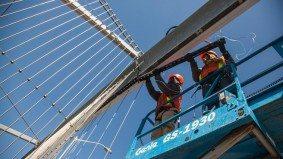 How the Bloor Viaduct's Luminous Veil finally got itself illuminated