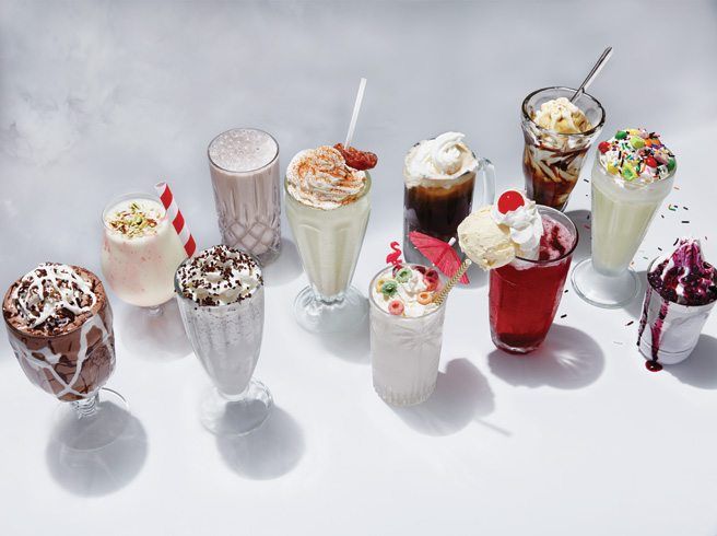 Fountain Heads: old-fashioned milkshakes and floats are back, this time with grown-up ingredients