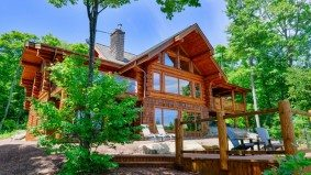 Cottage of the Week: $2.7 million for a luxurious log cabin on a private Huntsville lake