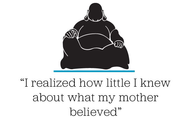 Memoir: after my mother died, I found solace in her religion