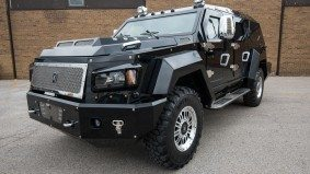 A close-up look at Toronto's most intimidating automotive export: the armoured Knight XV