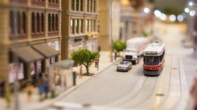 A close-up look at a ridiculously detailed scale model of Toronto