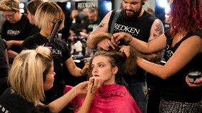 Shoelace disasters, last-minute makeup and more behind-the-scenes mayhem at Toronto Fashion Week