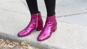 Sparkly boots, a see-through backpack and 23 more bold accessories spotted at Toronto Fashion Week