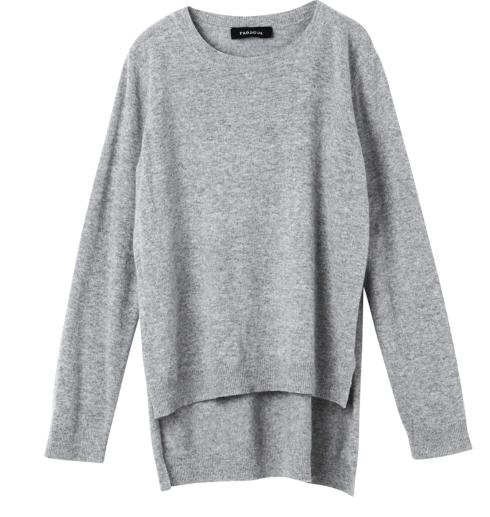 Split Knit Sweater