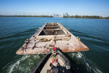 Dredging the Keating Channel