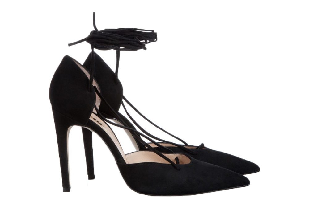 lace up pump new