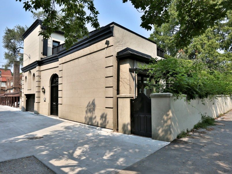 House of the Week: $4.9 million for a hidden laneway mansion near Yonge and Eglinton