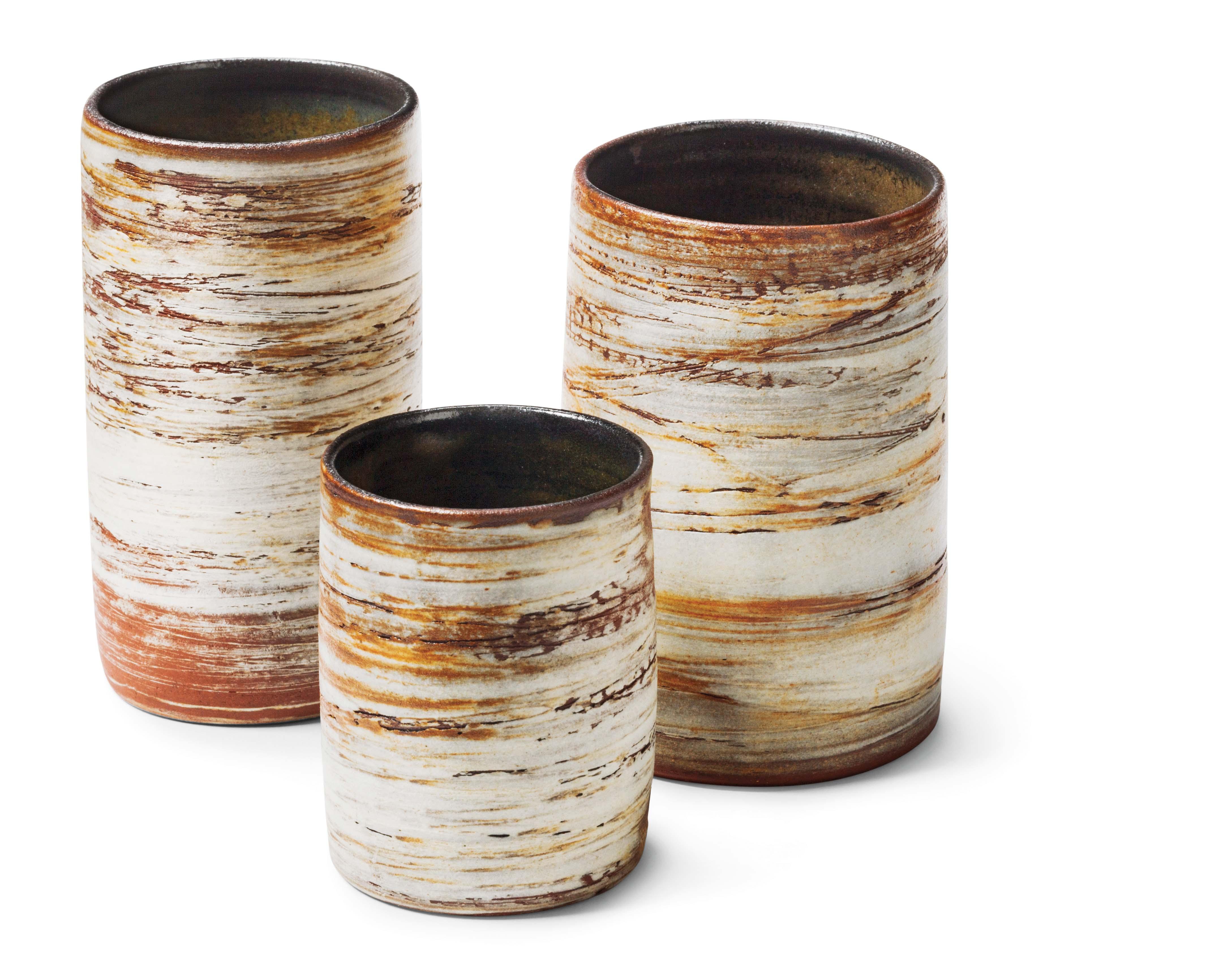 Assorted tumblers $18 to $32 by Sophia Kim, ophiaclayart