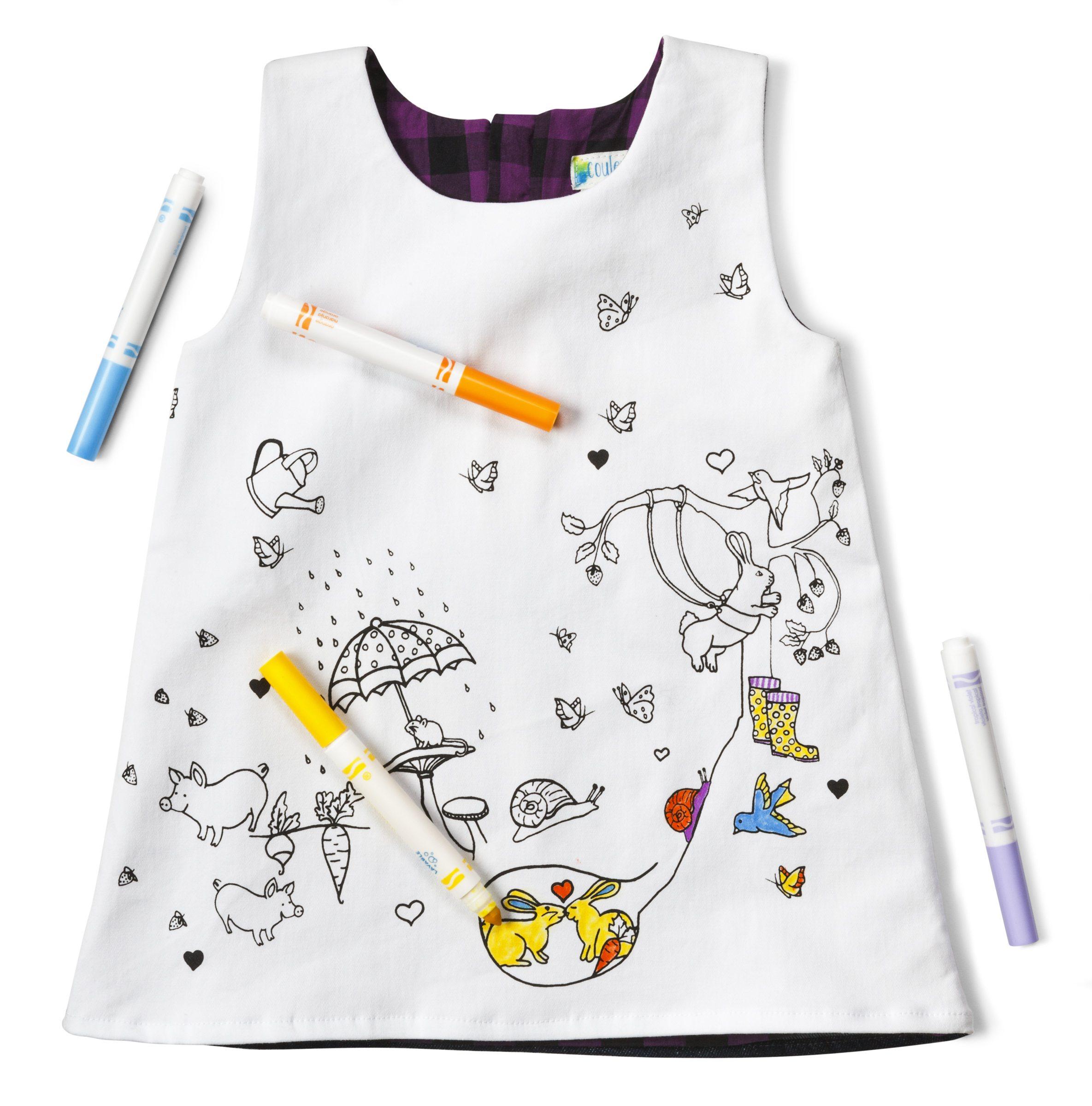 June bug tunic dress 1 $54 by Madeleine Bernatchez, Couleur-Moi