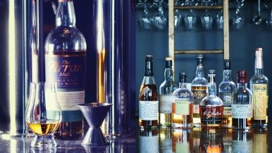Boxcar Social is more than a café. It's a shrine to scotch whisky