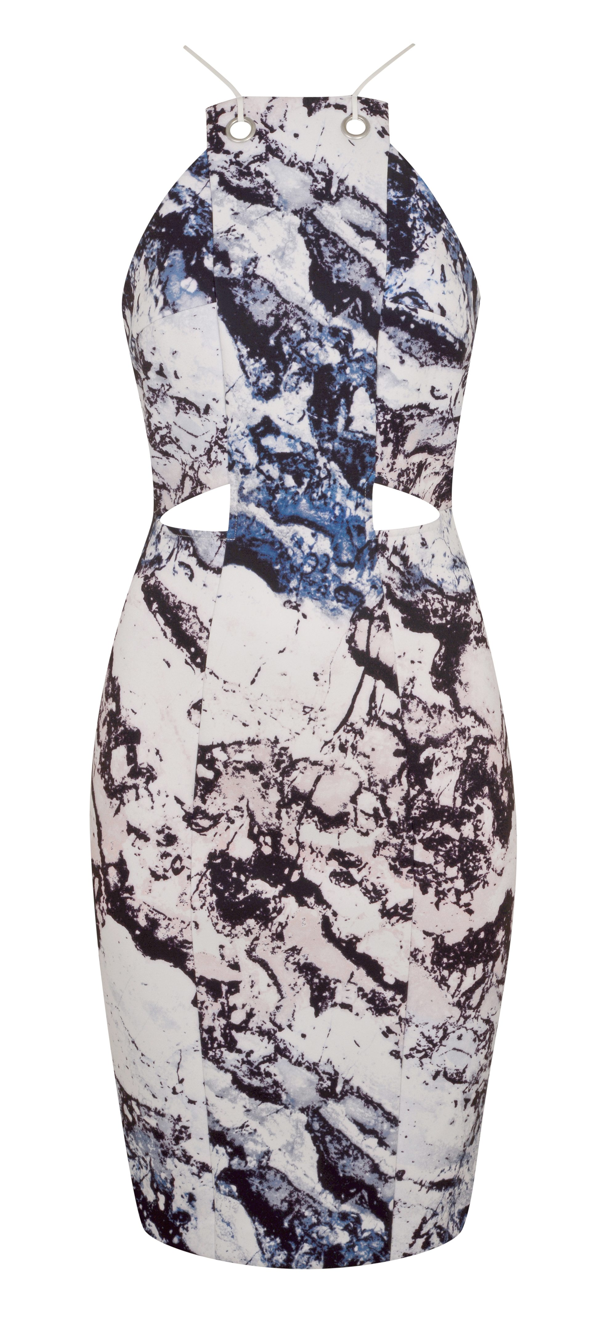 K+K Cut Out Printed Dress, $125 CAD
