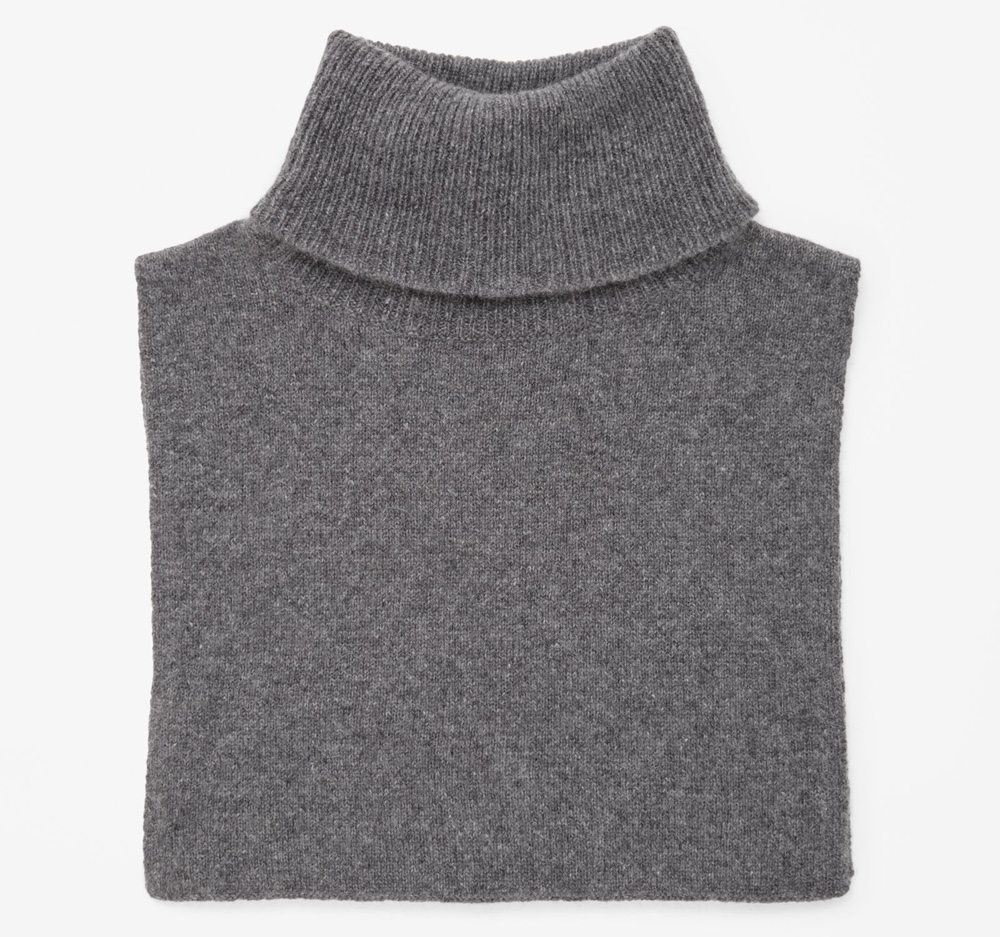 cashmere collar new