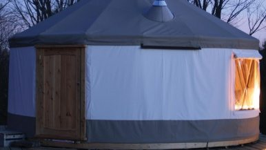 Where to get a DIY yurt that'll put snow caves to shame