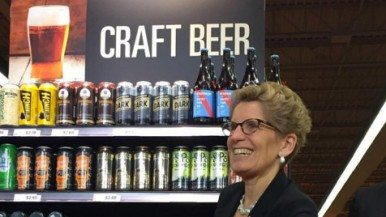 Craft beer hits Ontario grocery store shelves