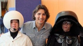 Justin Trudeau would like you to know that he likes <em>Star Wars</em>