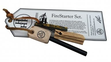 How to start a fire the old-fashioned way