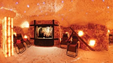 Where to soak up the seaside in a suburban salt cave