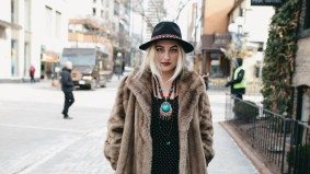 Street Style: Yorkvillers defy the cold in toasty, luxurious layers