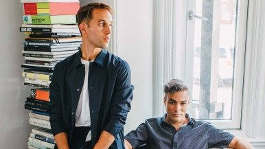Toronto's Best Dressed: Curator Rui Amaral and gallerist Daniel Faria