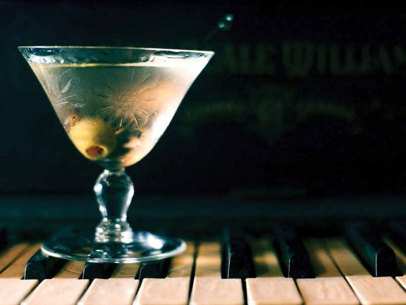 How to make Civil Liberties' gin martini
