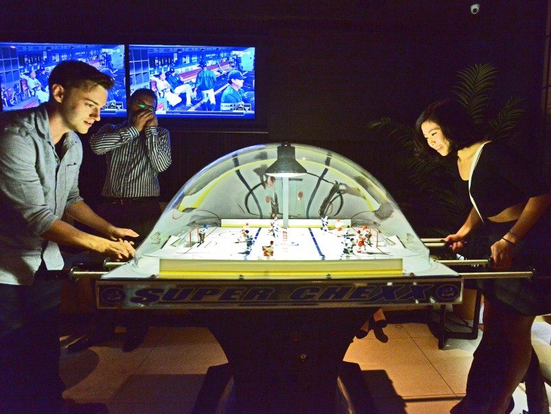 Obstacle courses, shuffleboard and three other ways to get in on the city's retro-gaming nightlife