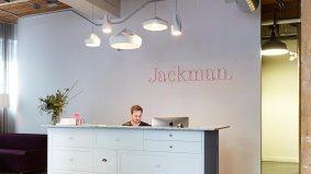 Inside the eclectically cool workspace of Jackman Reinvents