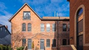 Condo of the Week: $939,000 for a Cabbagetown townhouse with some old-school appeal