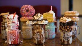 Thirteen over-the-top milkshakes