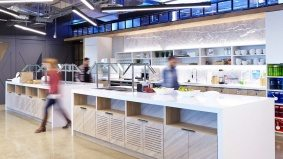 Inside Twitter Canada's snack- and beer-filled office