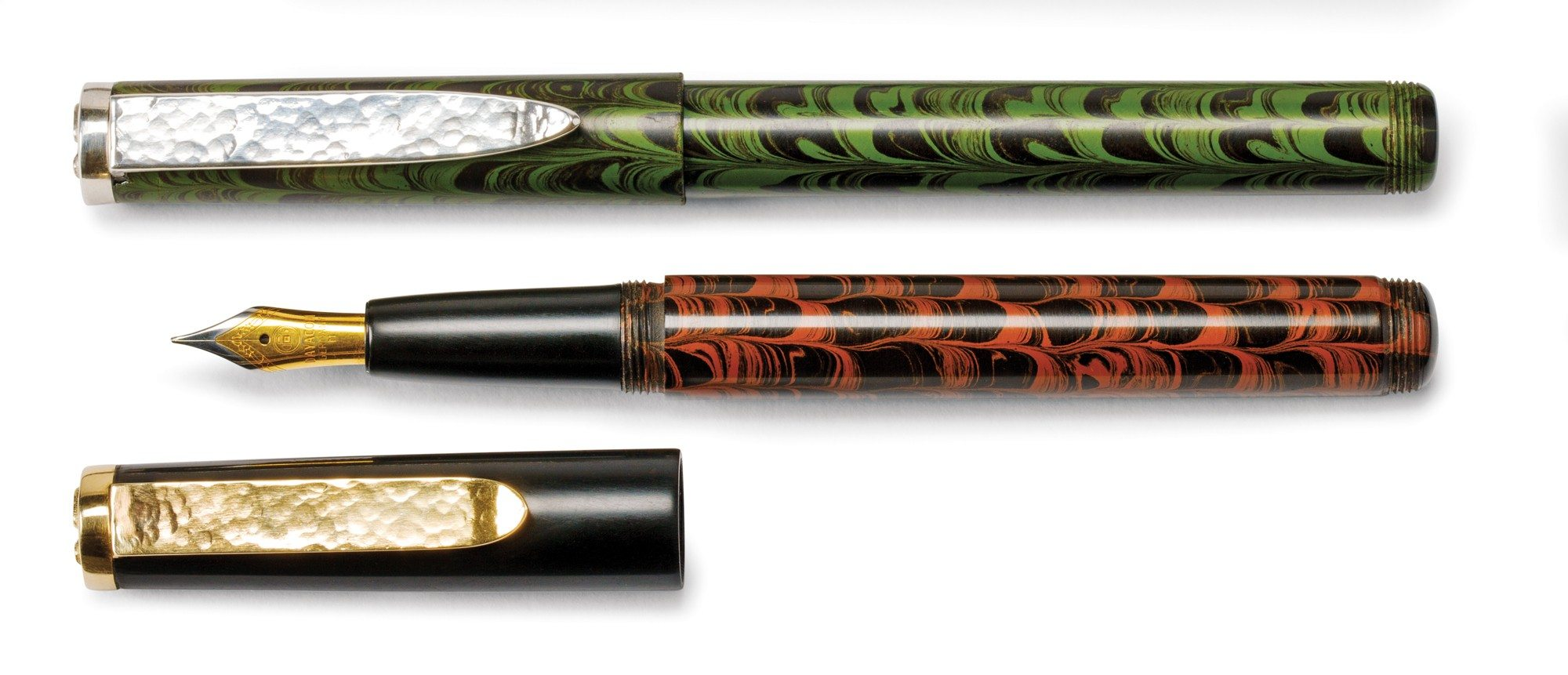 Fountain pens $400 to $550 by Richard Boucher