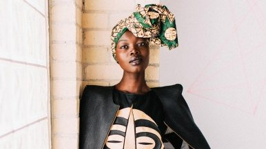 Toronto's Best Dressed: Runway model Aluad Anei