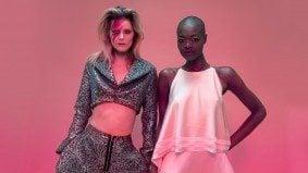 Why Evan Biddell is dedicating his David Bowie tribute at Fashion Art Toronto to Iman