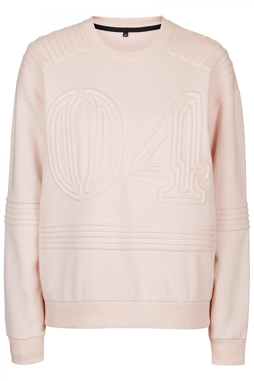 Ivy Park 04 Corded Sweatshirt in Pink, $95