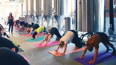 Beer-cizing—enjoying a brew at the end of a workout—is the funnest way to get fit this summer