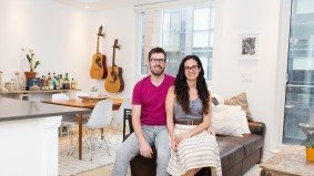 """We don't have anything looming over us"": How a young couple juggles their townhouse, their wedding and their small business"