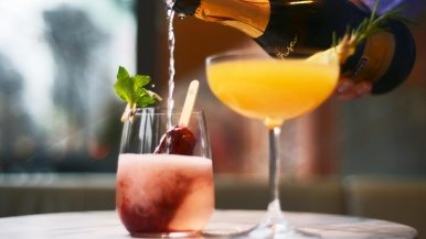 The city's best champagne brunches