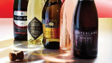 Ontario's best sparkling wines